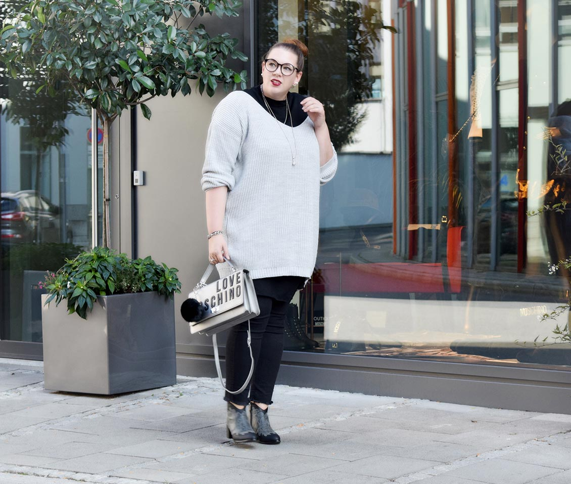 Outfit : Sweaterdress Asos Curve & Western Ankle Boots Park Lane_DSC_0016