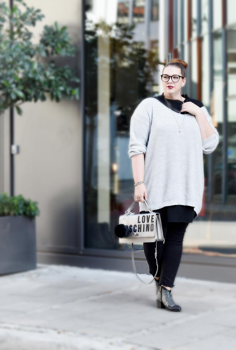 Outfit : Sweaterdress Asos Curve & Western Ankle Boots Park Lane_DSC_0020