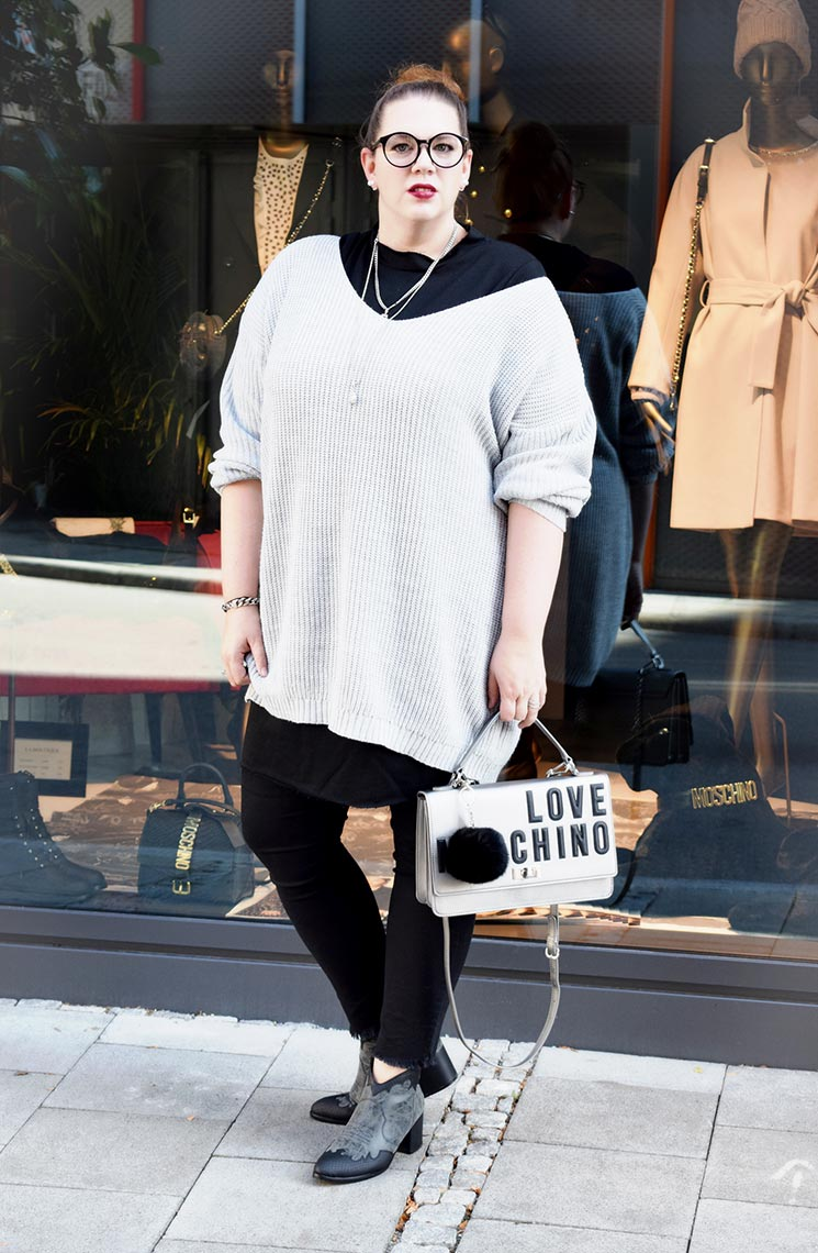 Outfit : Sweaterdress Asos Curve & Western Ankle Boots Park Lane_DSC_0024