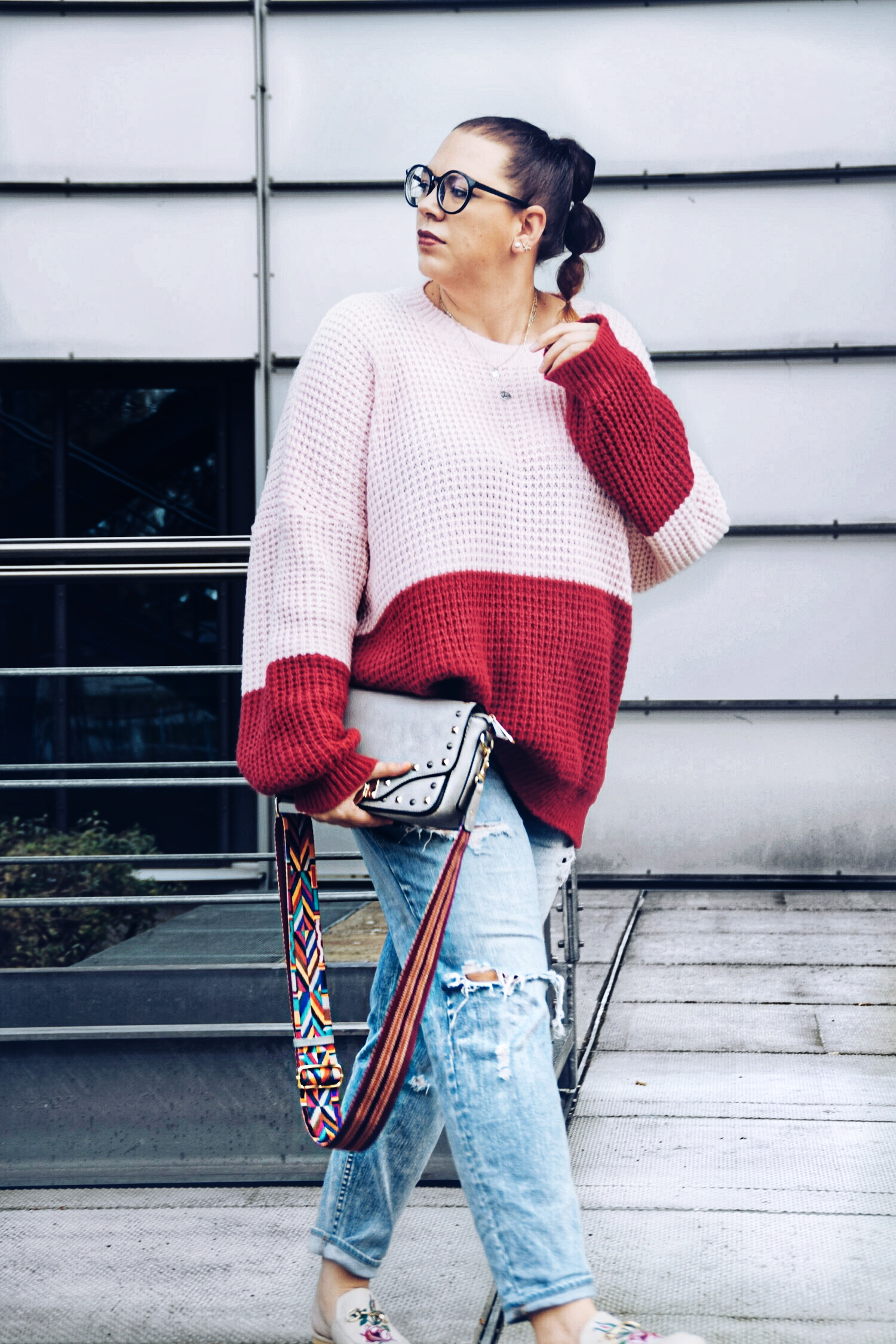 Outfit : Colorblocking Knitter boohoo4