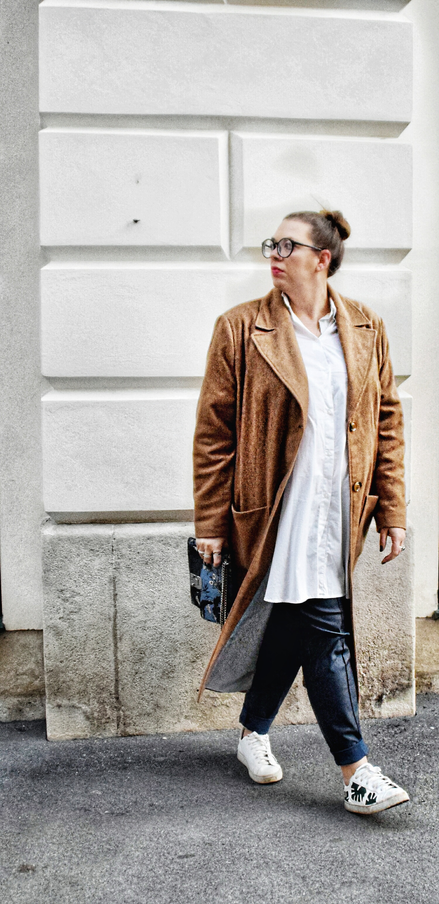 Outfit : Camelcoat & Fake Leather Pants belloya1