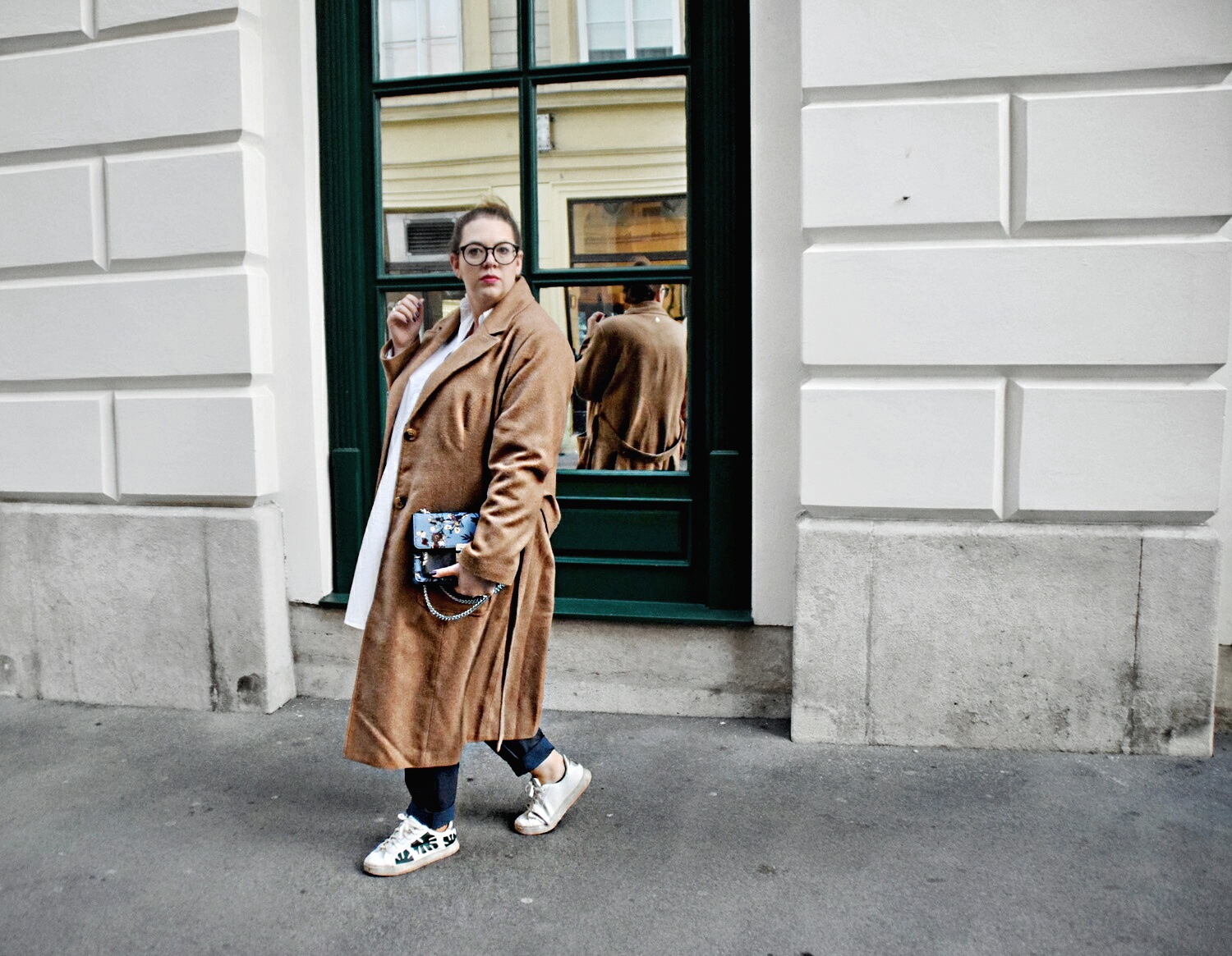 Outfit : Camelcoat & Fake Leather Pants belloya3