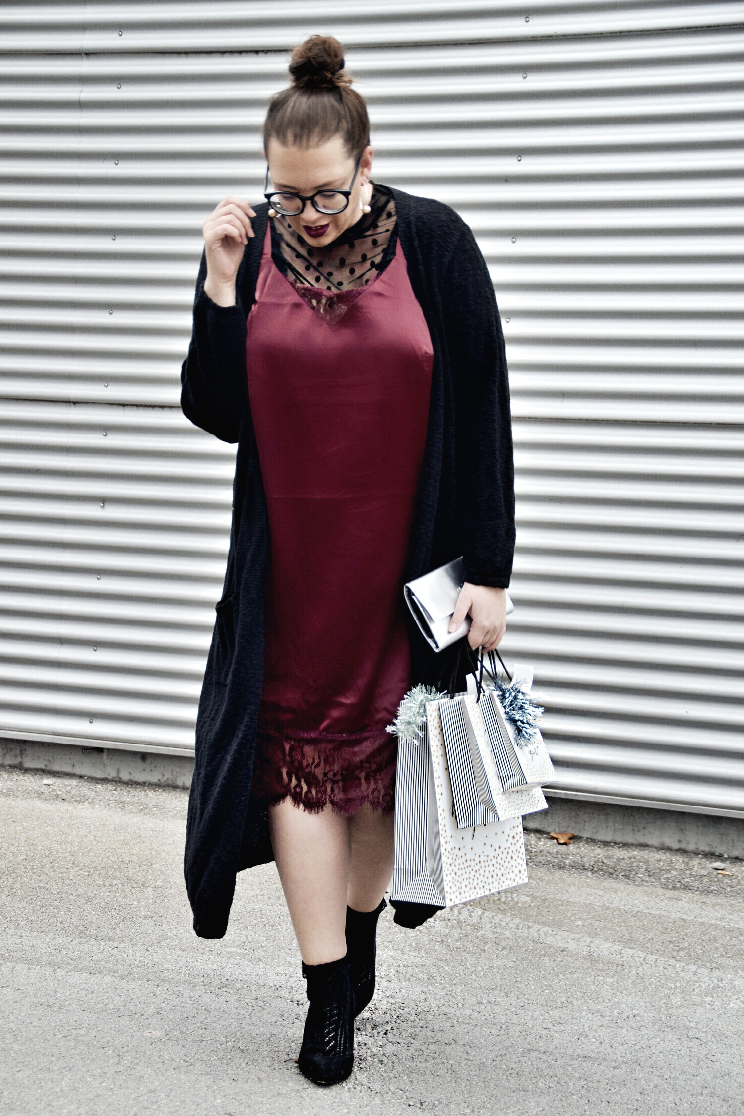 Outfit Christmas Edition : Lace Dress Studio Untold & Gewinnspiel 1. Advent5